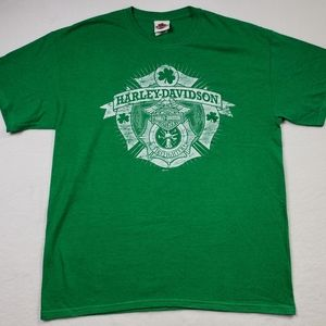 Harley Davidson men's Dublin Ireland T-Shirt Large